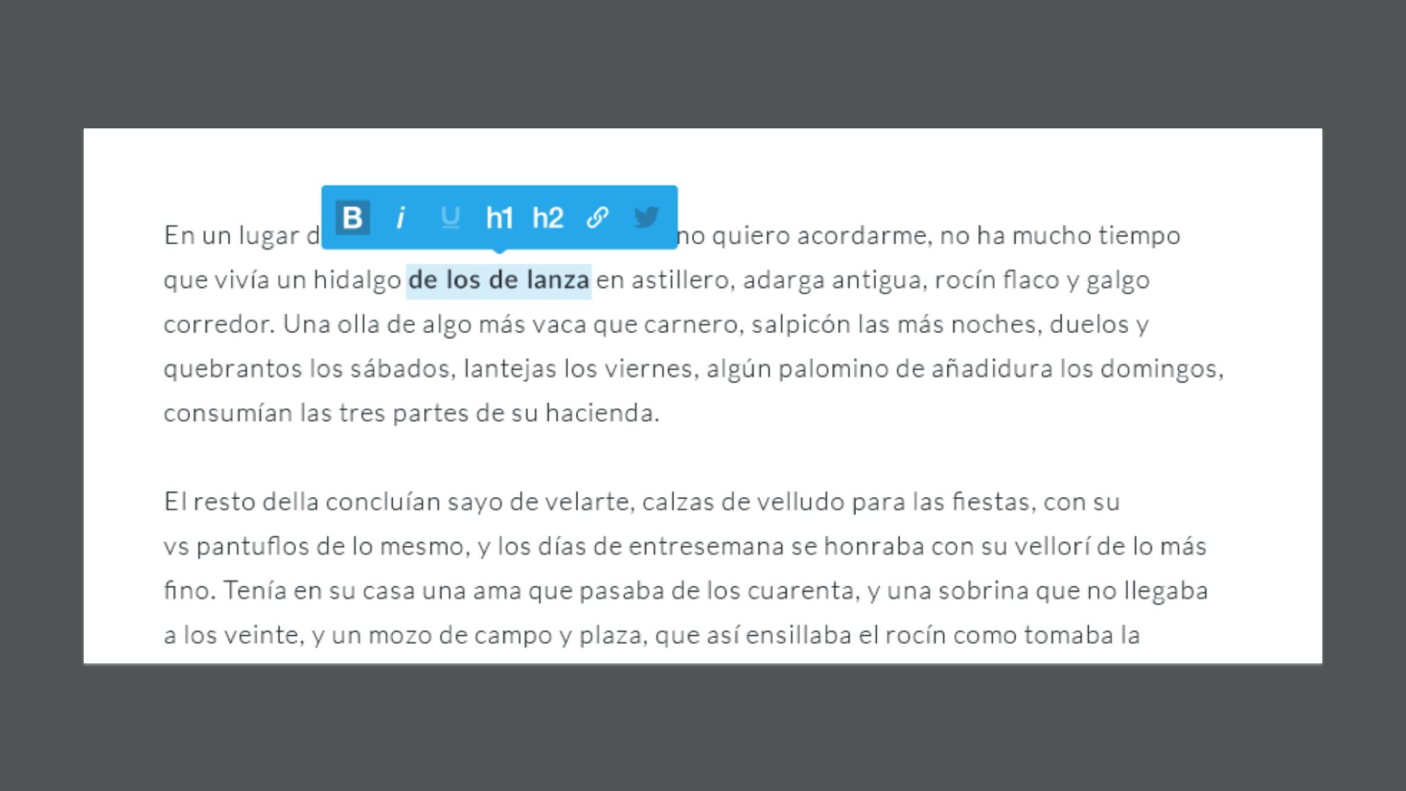 AlloyEditor a Medium style WYSIWYG Editor