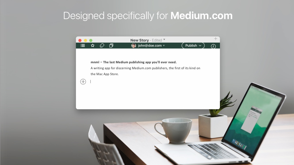 MNML: A New Mac App for Writing on Medium