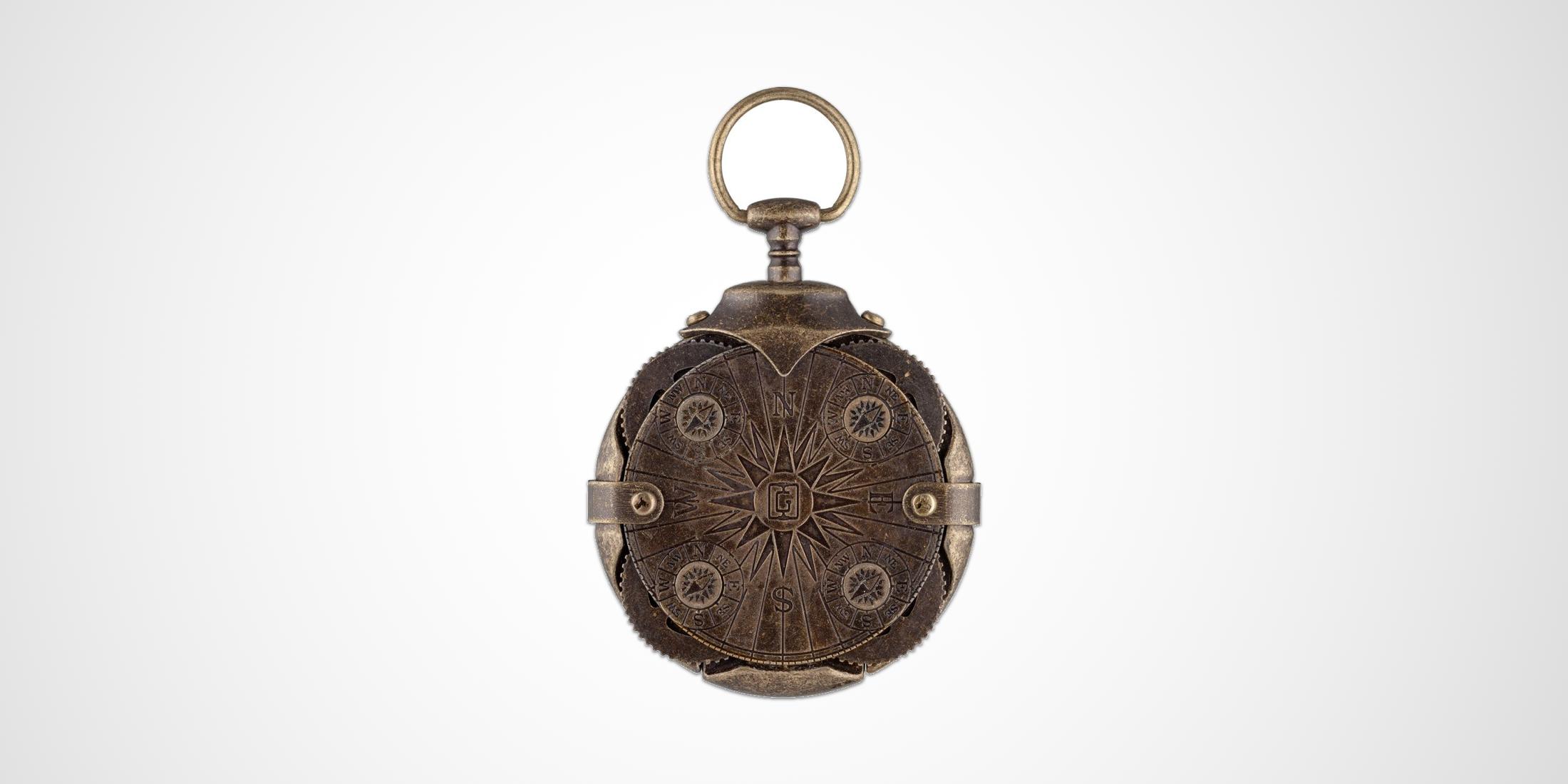 Locking Compass Flash Drive