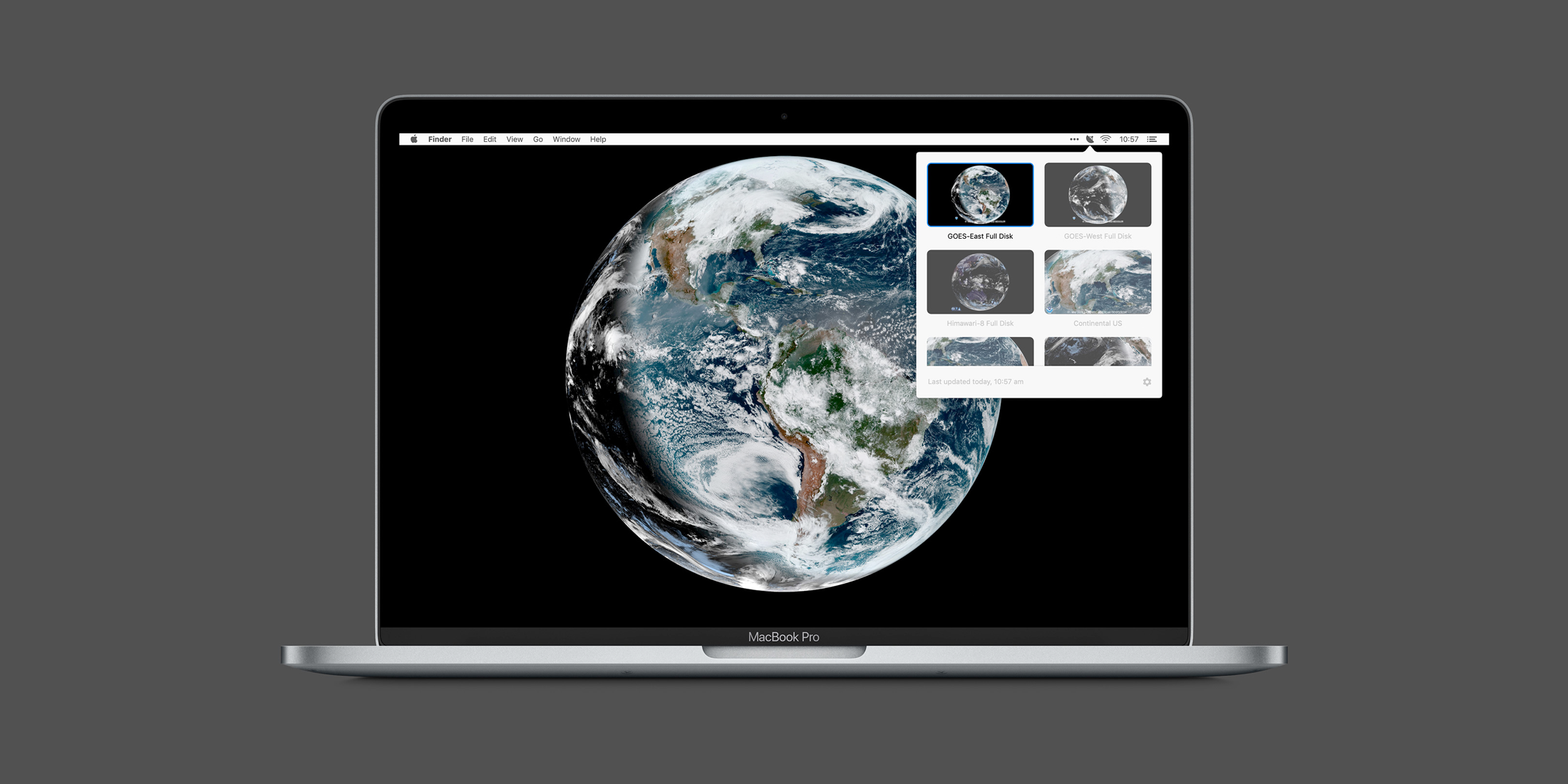 Downlink – Real-time satellite imagery on your desktop