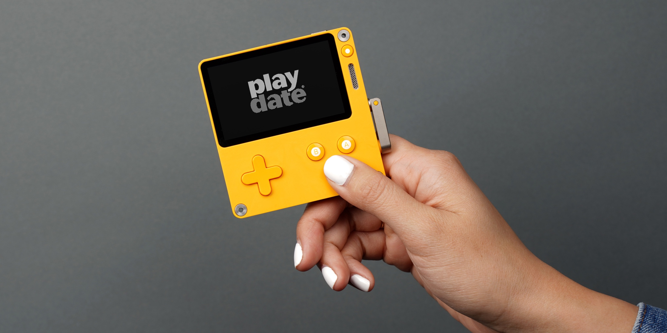 Playdate – A new handheld video game system by Panic