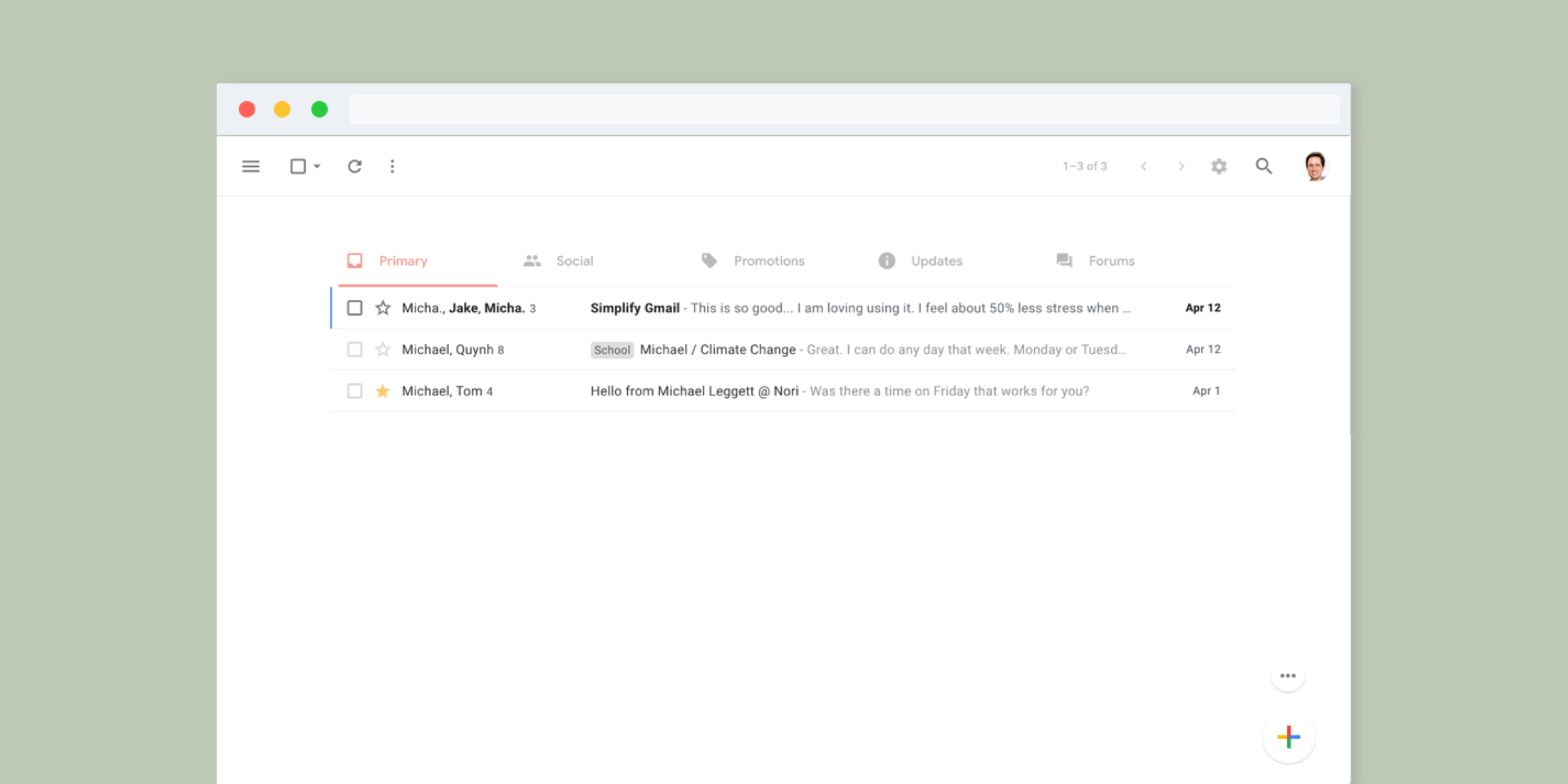 Simplify Gmail Browser Extension